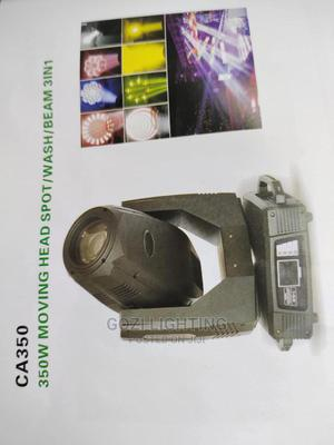 350w Moving Head Spot/Wash/Beam 3in1 Light   Stage Lighting & Effects for sale in Lagos State, Ojo