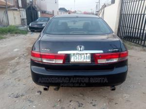 Honda Accord 2004 2.4 Type S Automatic Black | Cars for sale in Lagos State, Ikeja