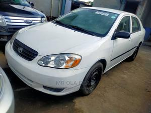 Toyota Corolla 2004 LE White | Cars for sale in Lagos State, Agege