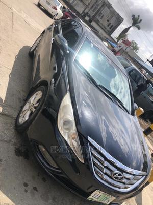 Hyundai Sonata 2012 Black   Cars for sale in Lagos State, Yaba