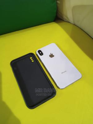 Apple iPhone X 64 GB Silver | Mobile Phones for sale in Lagos State, Alimosho