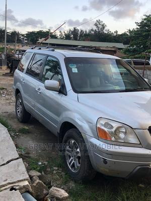 Honda Pilot 2004 Silver   Cars for sale in Lagos State, Surulere