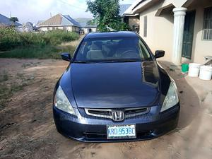 Honda Accord 2003 Black   Cars for sale in Plateau State, Jos