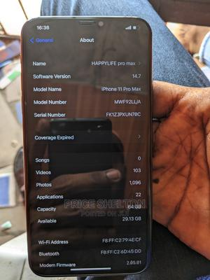 Apple iPhone 11 Pro Max 64 GB Gray   Mobile Phones for sale in Lagos State, Alimosho