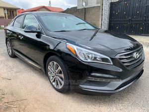 Hyundai Sonata 2015 Black | Cars for sale in Lagos State, Ajah