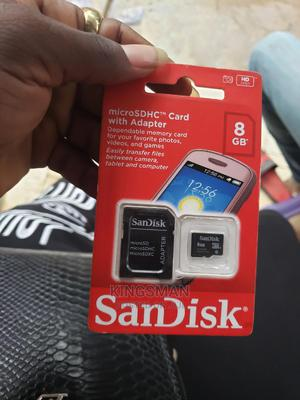 Sandisk 8GB Memory Card | Accessories for Mobile Phones & Tablets for sale in Lagos State, Ikeja