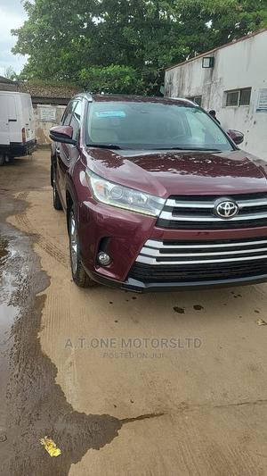 Toyota Highlander 2018 Red | Cars for sale in Lagos State, Ejigbo
