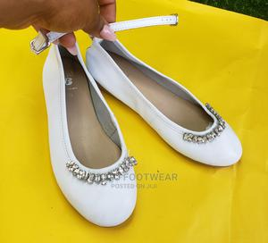 White Flat Shoe for Girls | Children's Shoes for sale in Lagos State, Ojodu