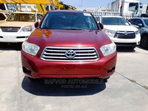 Toyota Highlander 2008 Red   Cars for sale in Lagos State, Lekki