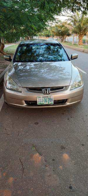 Honda Accord 2005 Sedan LX Automatic Gold | Cars for sale in Abuja (FCT) State, Kubwa