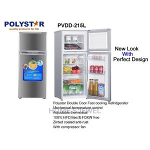 Double Door Freezer Refrigerator Polystar | Kitchen Appliances for sale in Lagos State, Ojo