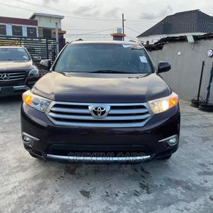 Toyota Highlander 2013 Limited 3.5l 4WD Brown | Cars for sale in Lagos State, Ikeja