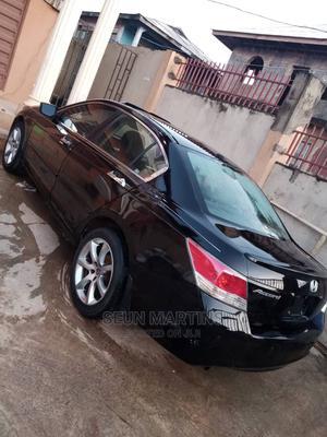 Honda Accord 2008 3.5 EX Automatic Black | Cars for sale in Ogun State, Sagamu