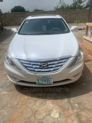 Hyundai Sonata 2013 White | Cars for sale in Ogun State, Ikenne