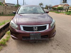 Honda Accord 2008 2.4 EX-L Automatic Red | Cars for sale in Lagos State, Ojodu