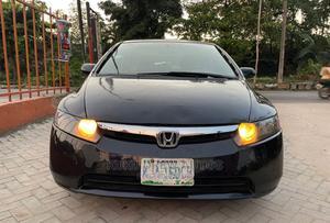 Honda Civic 2006 Black   Cars for sale in Lagos State, Magodo