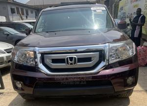 Honda Pilot 2009 Burgandy | Cars for sale in Lagos State, Ikeja