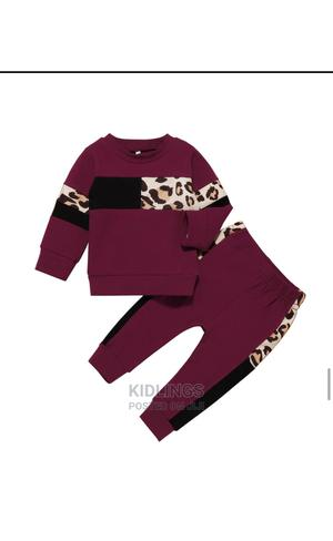 Children Leopard Print Set | Children's Clothing for sale in Lagos State, Lekki