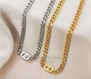 2D Silver Gold Chain   Jewelry for sale in Lagos State, Lagos Island (Eko)