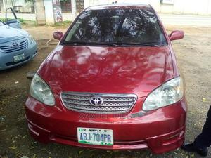 Toyota Corolla 2006 S Red | Cars for sale in Niger State, Suleja