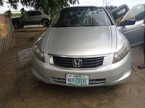 Honda Accord 2008 2.4 EX Silver   Cars for sale in Rivers State, Port-Harcourt