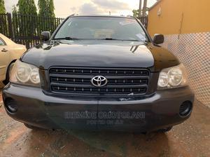 Toyota Highlander 2003 Black   Cars for sale in Lagos State, Abule Egba
