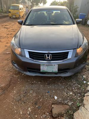 Honda Accord 2008 3.5 EX Automatic Gray | Cars for sale in Lagos State, Isolo
