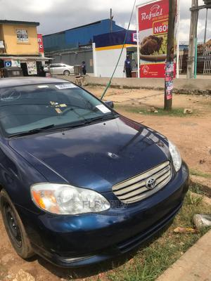 Toyota Corolla 2003 Sedan Automatic Blue | Cars for sale in Lagos State, Alimosho