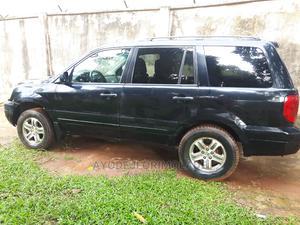 Honda Pilot 2004 EX 4x4 (3.5L 6cyl 5A) Black | Cars for sale in Lagos State, Ojodu