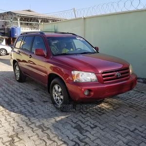 Toyota Highlander 2000 Red   Cars for sale in Katsina State, Jibia