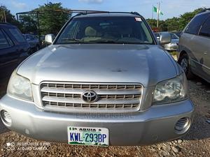 Toyota Highlander 2003 V6 AWD Silver | Cars for sale in Abuja (FCT) State, Jabi