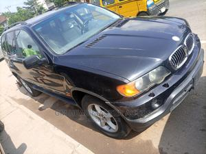 BMW X5 2003 3.0D Automatic Black   Cars for sale in Lagos State, Ogba