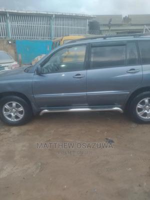 Toyota Highlander 2006 V6 Blue   Cars for sale in Lagos State, Ikorodu
