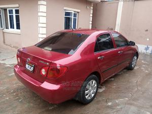 Toyota Corolla 2003 Sedan Red | Cars for sale in Lagos State, Agege