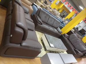 Quality Leather Sofa   Furniture for sale in Abuja (FCT) State, Wuse 2