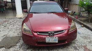 Honda Accord 2004 2.4 Type S Automatic Red | Cars for sale in Abuja (FCT) State, Kurudu