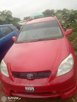 Toyota Matrix 2004 Red   Cars for sale in Abuja (FCT) State, Gaduwa