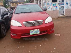 Toyota Corolla 2007 Red   Cars for sale in Lagos State, Abule Egba