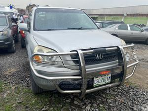 Honda Pilot 2004 Silver   Cars for sale in Lagos State, Ogba