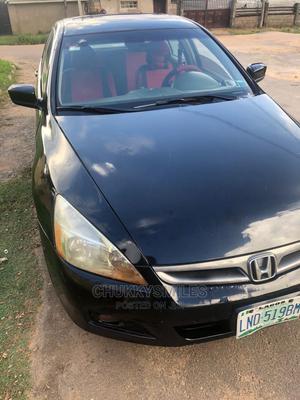 Honda Accord 2005 Sedan LX V6 Automatic Black | Cars for sale in Abuja (FCT) State, Jahi