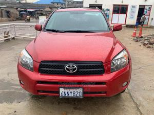 Toyota RAV4 2007 Sport 4x4 Red | Cars for sale in Lagos State, Alimosho