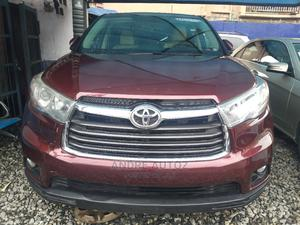 Toyota Highlander 2015 Red | Cars for sale in Lagos State, Isolo