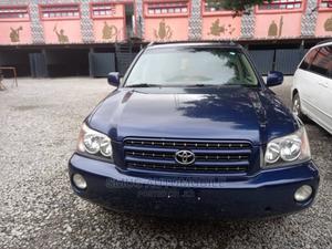 Toyota Highlander 2003 Blue   Cars for sale in Lagos State, Egbe Idimu