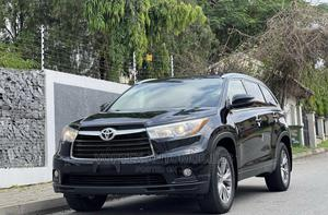 Toyota Highlander 2015 Black   Cars for sale in Abuja (FCT) State, Asokoro