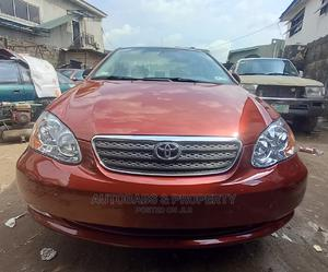 Toyota Corolla 2006 LE Red   Cars for sale in Lagos State, Mushin