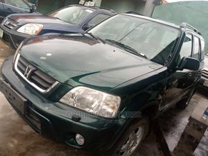 Honda CR-V 2000 2.0 Automatic Green | Cars for sale in Lagos State, Isolo