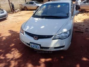 Honda Civic 2006 1.8i-Vtec EXi White | Cars for sale in Edo State, Ikpoba-Okha