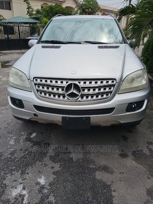 Mercedes-Benz M Class 2007 ML 500 4Matic Silver   Cars for sale in Lagos State, Yaba