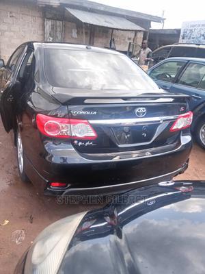 Toyota Corolla 2012 Black   Cars for sale in Edo State, Benin City