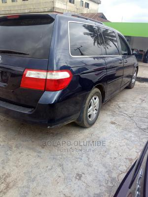 Honda Odyssey 2008 EX-L DVD Blue   Cars for sale in Lagos State, Ikeja